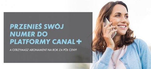 CANAL+ TELEFON ZA PÓŁ CENY AŻ NA 12 MIESIĘCY