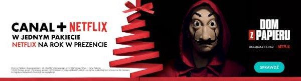 Oferty świąteczne CANAL+ NETFLIX